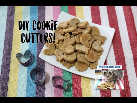 DIY Cookie Cutter & Tuna Cookie Recipe For Cats & Dogs!