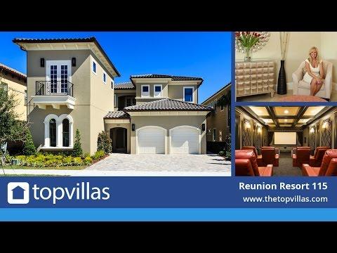 Reunion Resort 115 - Luxury Orlando Villa Near Disney