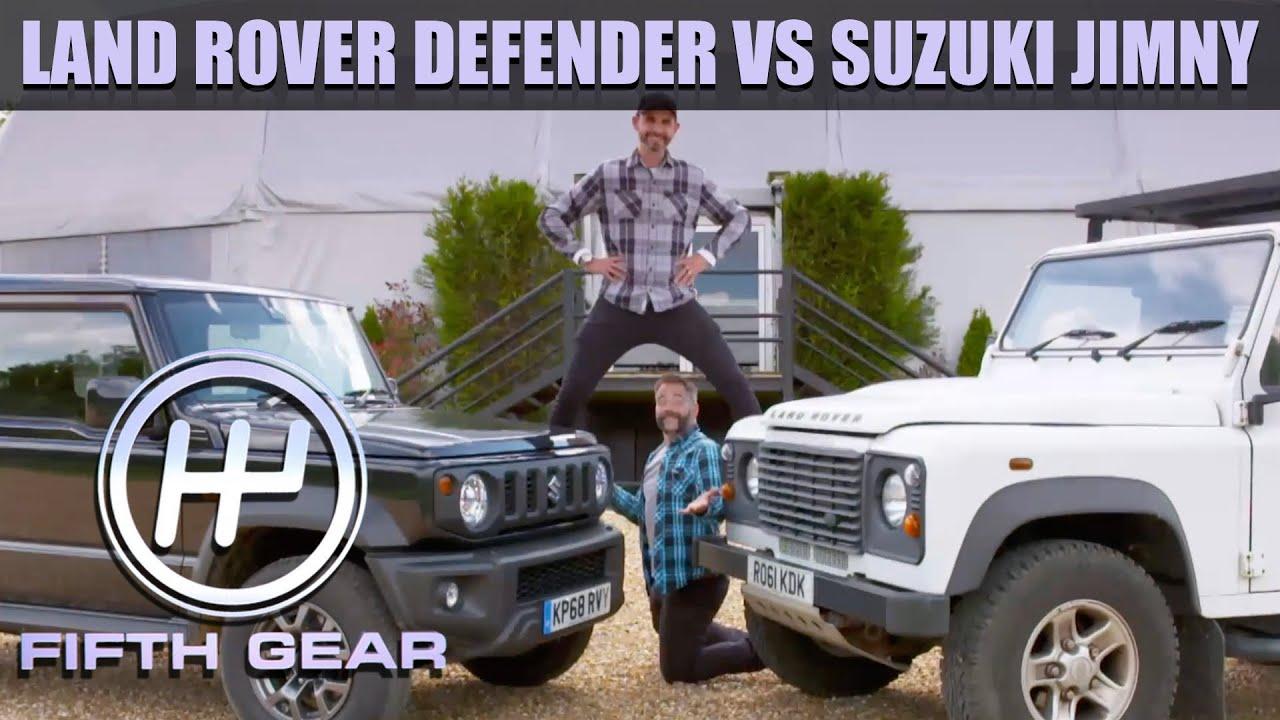 Download Land Rover Defender VS Suzuki Jimny - The Full Challenge   Fifth Gear