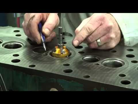 Cylinder Head Valve Seat Cutting