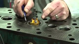 Cylinder Head Valve Seat Cutting