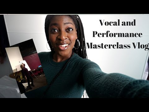 Why are you singing that song?!-  Vocal and Performance Masterclass Vlog