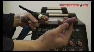 Аргонодуговая сварка. Сварочный инвертор Tig(Устройство аргонодугового аппарата Tig 315P AC/DC ПРОФИ. Передняя панель сварочного инвертора оснащена большим..., 2012-11-08T12:27:27.000Z)