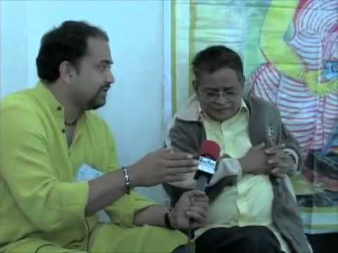 Humayun Ahmed Interview by Shoumya Dasgupta of West Bengal.FLV