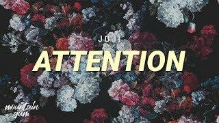 Joji - ATTENTION (Lyric)