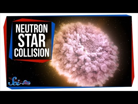 The First Neutron Star Collision We've Ever Seen