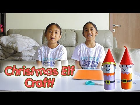 Toilet Roll Elf | Christmas Crafts | Toilet Paper Roll Craft