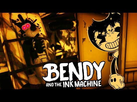 NEW SECRET ROOM WITH A HIDDEN BENDY JUMPSCARE!   Bendy and the Ink Machine CHAPTER 1 (NEW UPDATE)