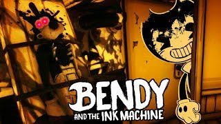 NEW SECRET ROOM WITH A HIDDEN BENDY JUMPSCARE! | Bendy and the Ink Machine CHAPTER 1 (NEW UPDATE)