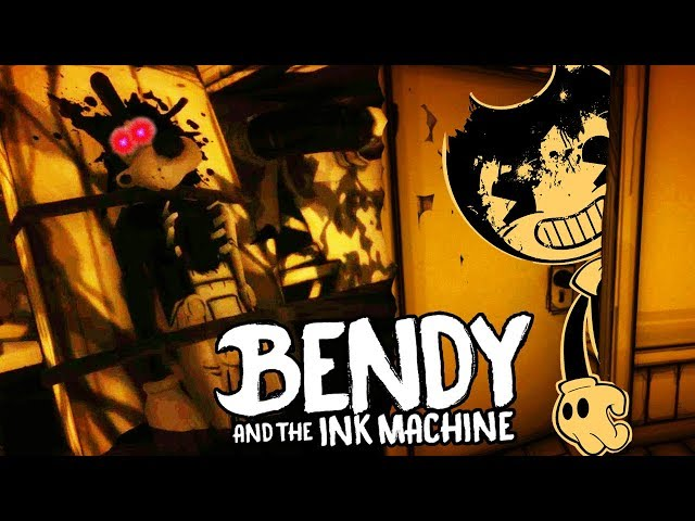 1 And Machine Ink Chapter Bendy Rooms