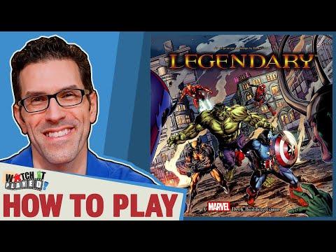 Legendary Marvel Deck Builder - How To Play