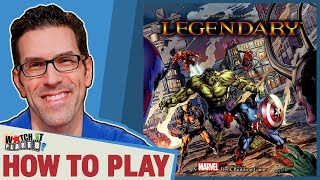 Legendary Marvel Deck Builder - How To Play