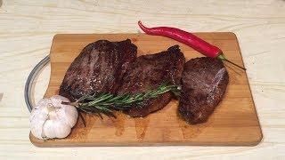 Готовим стейк Пиканья из мраморной говядины, Мираторг.Как приготовить вкусно стейк, повар подскажет.