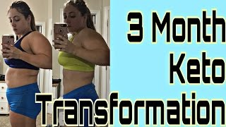 3 Month Keto Transformation | Best Outdoor Workout With NO Equipment | Keto Kat Vlogs
