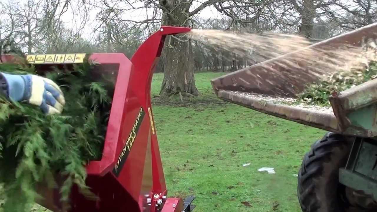 Heavy Shredder Wood Chipper Duty