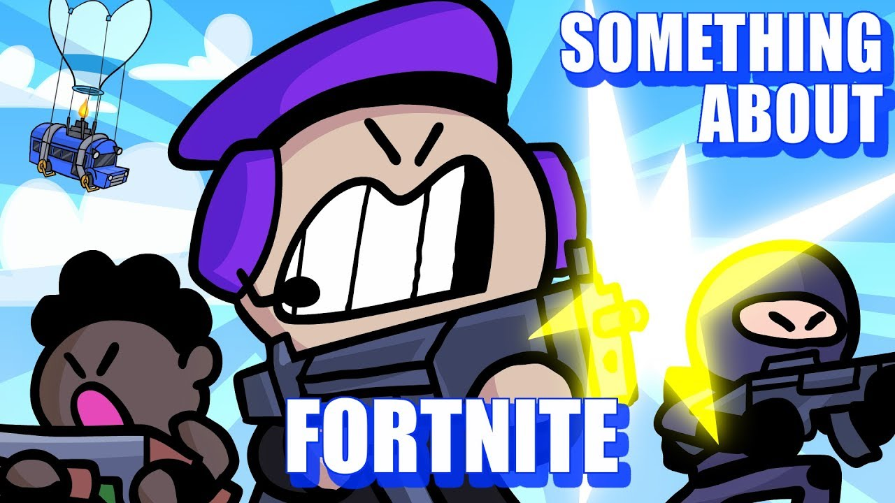 Something About Fortnite Battle Royale Animated Loud Sound Warning