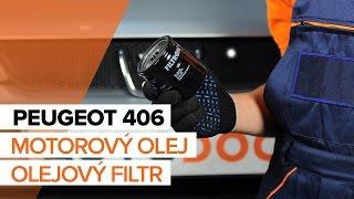 Jak vyměnit motorový olej a olejový filtr na PEUGEOT 406 [NÁVOD]