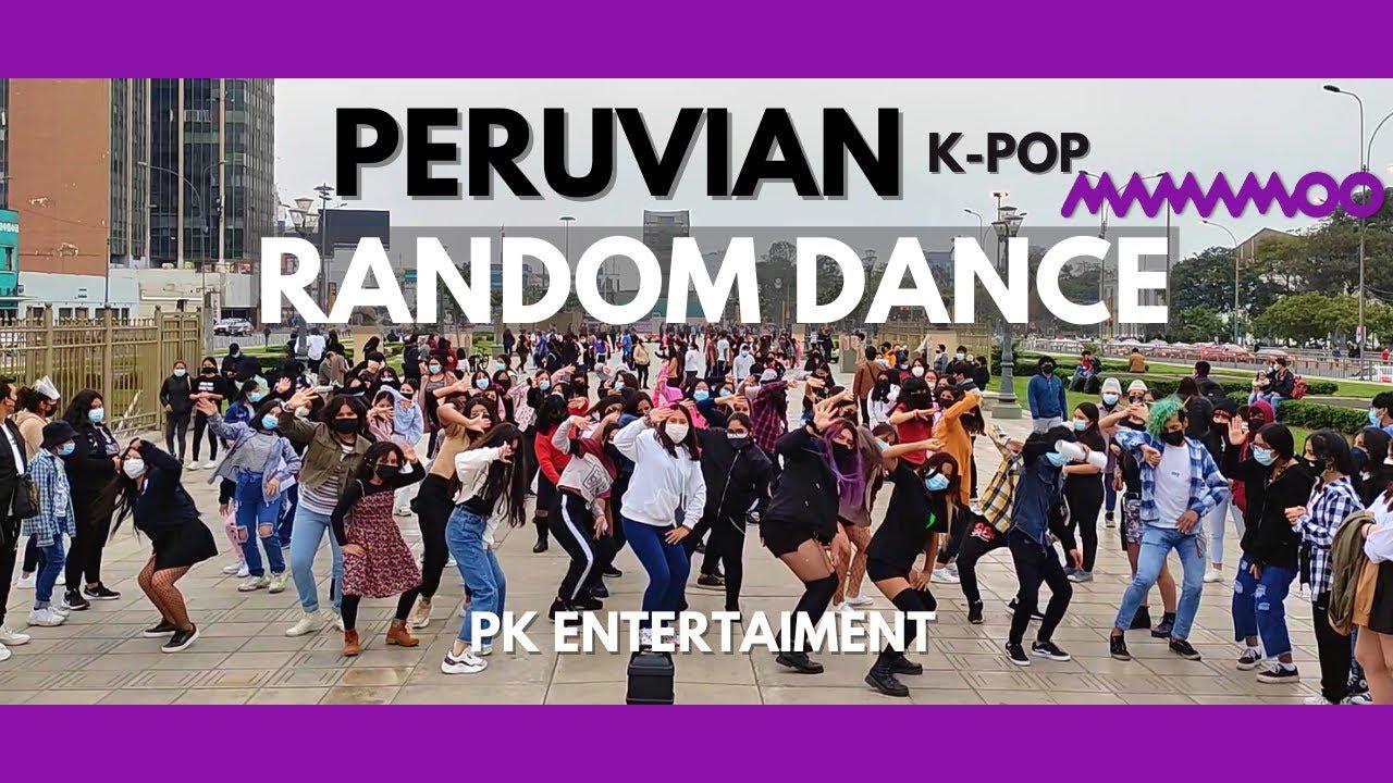 🇵🇪 PERUVIAN MAMAMOO RANDOM DANCE in public(Lima-Perú) 🇵🇪