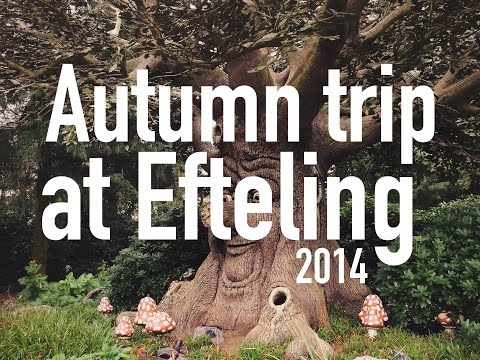 Autumn trip to the Efteling