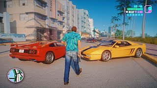 Gta: Vice City 2020 Remastered Gameplay! 4k 60fps Next-gen Ray Tracing Graphics  Gta 5 Pc Mod