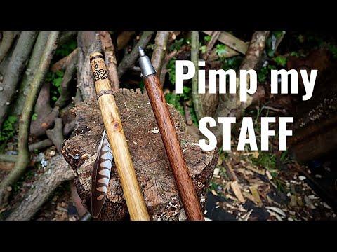 Pimp My StaffWalking Stick Maintenance, Decoration and OptimisationAlpine Ferrule, Burn Designs