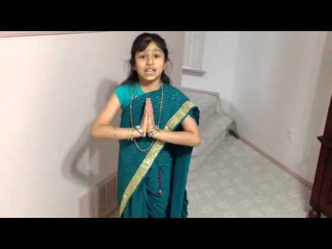 Tanvi talking about the indian greeting namaste youtube tanvi talking about the indian greeting namaste m4hsunfo