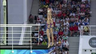 Wang Xin & Chen Ruolin Win Synchronised 10m Diving Gold - Beijing 2008 Olympics