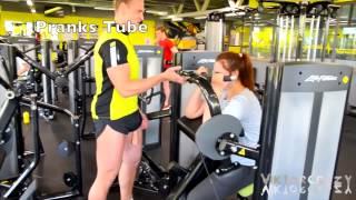 Repeat youtube video Top 3 Best Gym Penis Pranks (GONE WRONG) - Big D*ck Pranks 2016