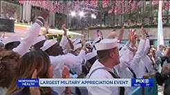 Largest NYC event celebrating veterans and active military members
