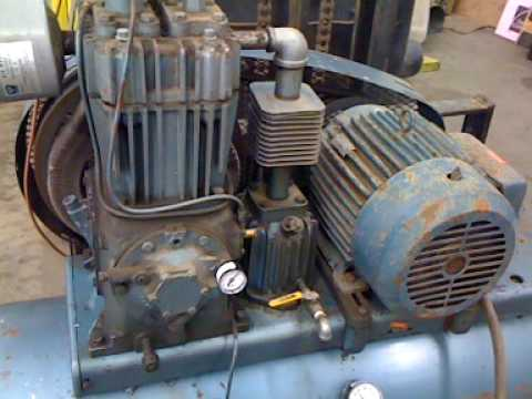 Vintage Quincy 310 Compressor How To Save Money And Do