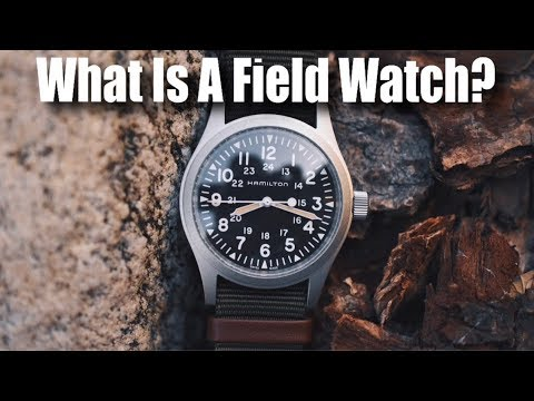 What Is A Field Watch?  Top 5 Field Watches Of All Time! (Rolex, Seiko, Boldr, Hamilton, Orient)