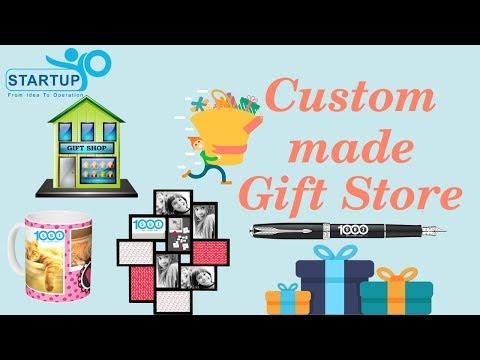 Custom Made Gift Store Business   StartupYo   www.startupyo.com