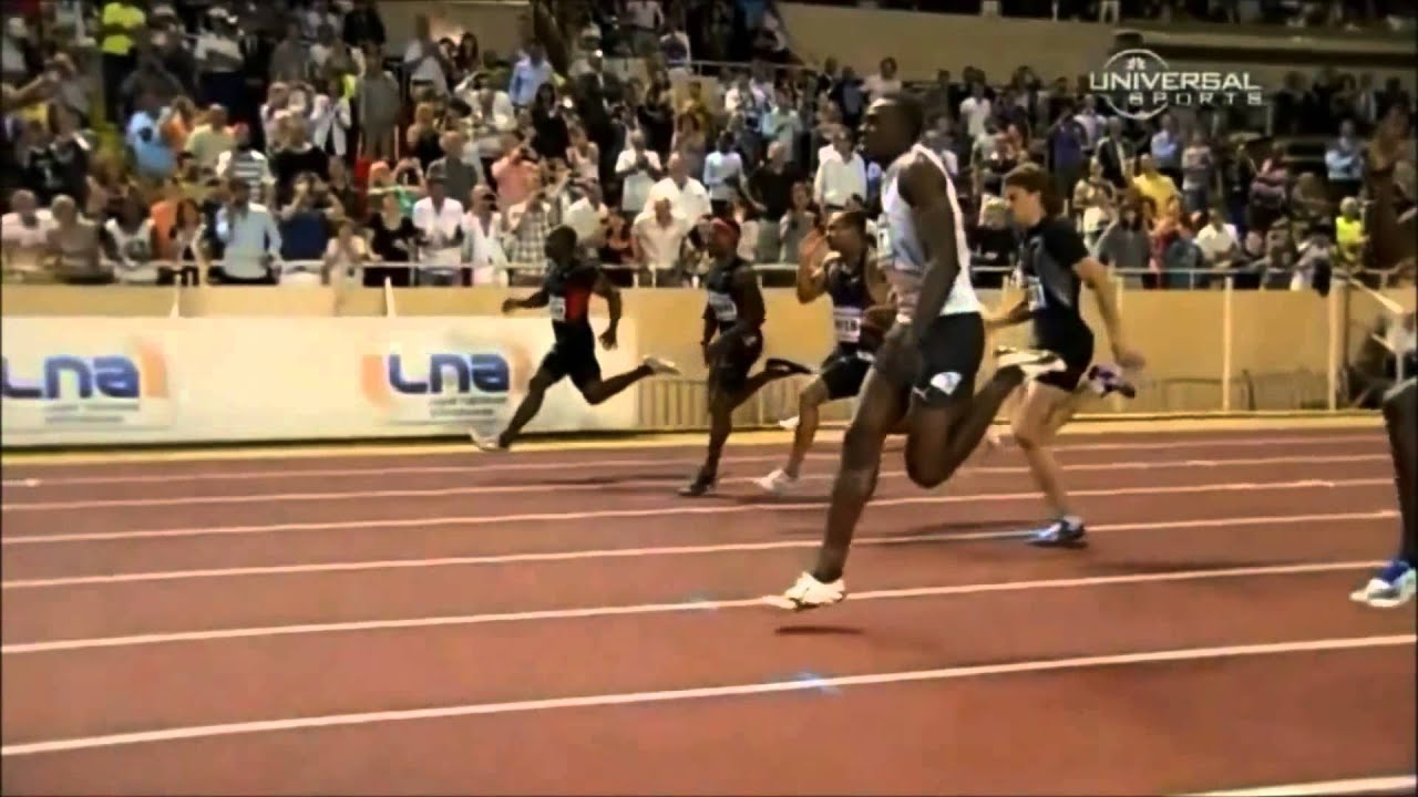 Sprint Form Slow Motion - YouTube