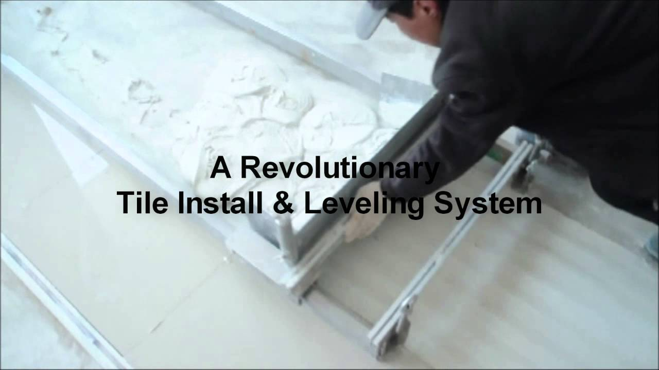 Tile Leveling System Easy Way To Install New Invention Youtube