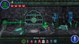 LEGO Batman 2: DC Super Heroes (PS Vita/3DS) Arkham Asylum - Free Play
