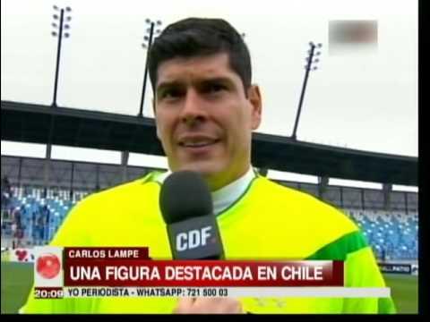 Carlos Lampe hace noticia en Chile
