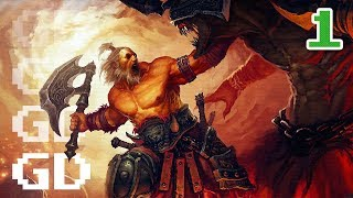Diablo 3 Gameplay Part 1 - Barbarian - Let