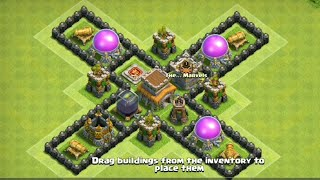 Townhall 8 Base Farming| Clash of clan Th8 base | Best base th8