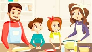 Colorful Game - Learning Kitchen - Fun Girl Care Makeover Kids Games - Hannah
