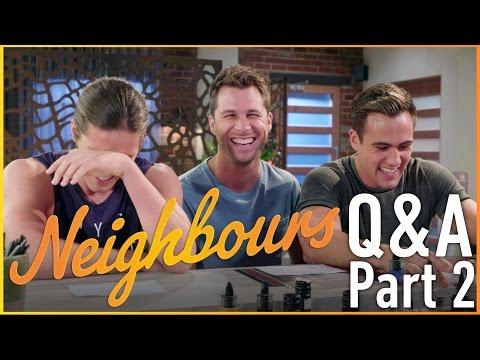 Travis Burns (Tyler), Scott McGregor (Mark) and Matt Wilson (Aaron) Q&A Part 2 - Neighbours