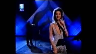 celine dion because you loved me i finally found someone 1997 academy awards