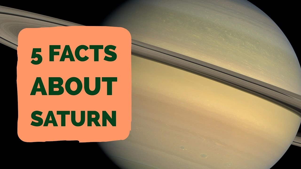 Information About >> Facts About Saturn | 5 Facts About The Planet Saturn - YouTube