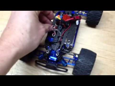 Team Associated RC18MT fully upgraded