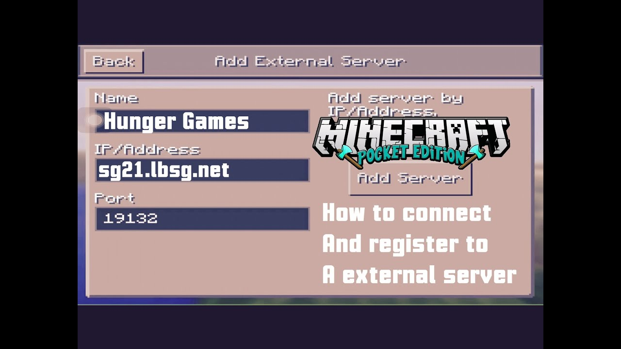 Server Minecraft Where Find Can Address I Pe