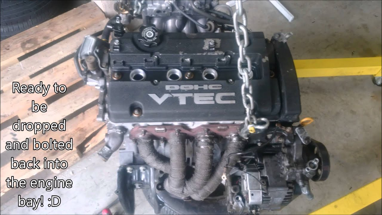 honda prelude bb6 h22a4 engine swap build youtube rh youtube com Honda Timing Belt Diagram Air Conditioning Diagram