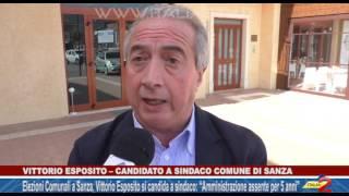 Elezioni Amministrative a Sanza, Vittorio Esposito si candida a sindaco: l'intervista