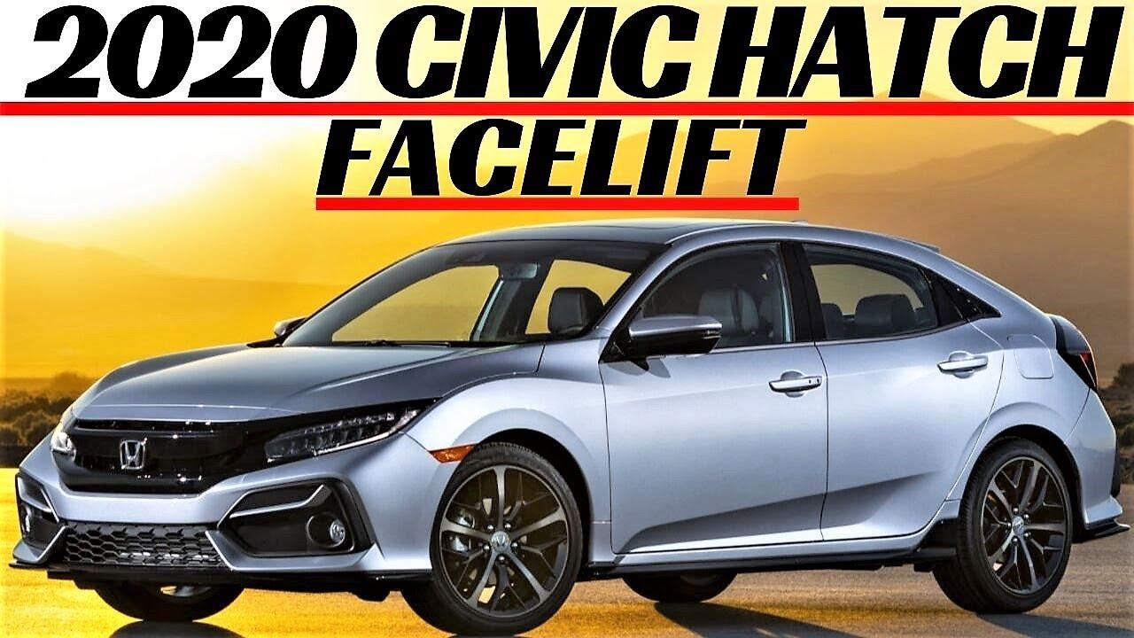 honda civic hatchback facelift 2020