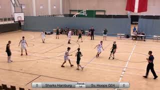Sharks Hamburg - Sverresborg Hoops (Part 1) - Copenhagen Invitational 2018 - Boys 04