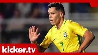 Paulinho erklärt seinen Wechsel zu Leverkusen | kicker.tv
