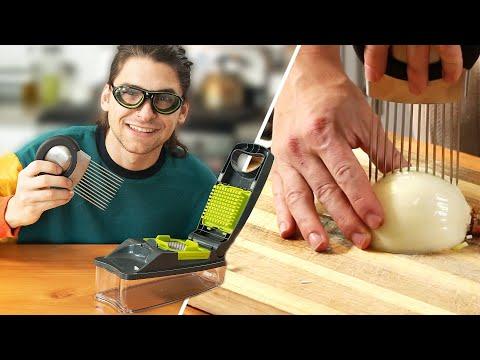 I Tried Onion Chopping Gadgets • Tasty